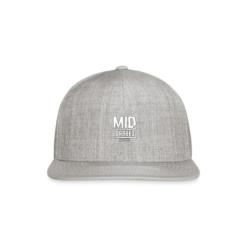 MID OR FEED - Snap-back Baseball Cap