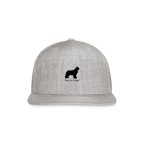 Yes Its A Dog - Snapback Baseball Cap