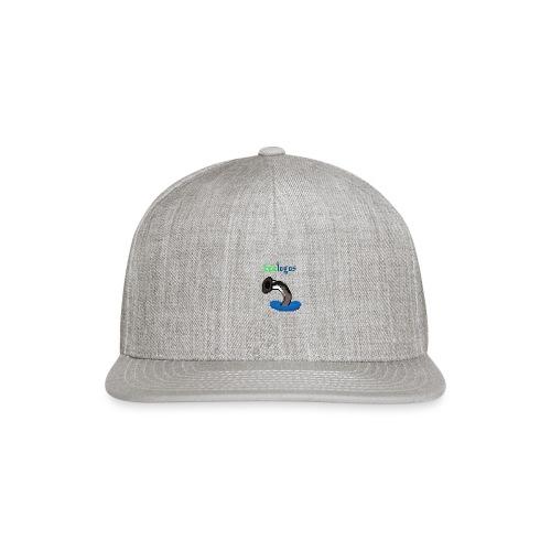 Pixel Sea Lamprey - Snap-back Baseball Cap