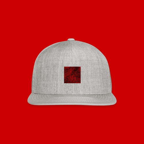 Detailed Chaos Communism Button - Snapback Baseball Cap
