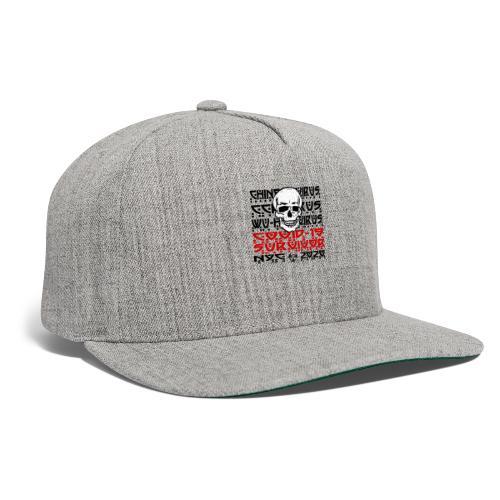 Corona Skull Survivor (NYC) - Snapback Baseball Cap