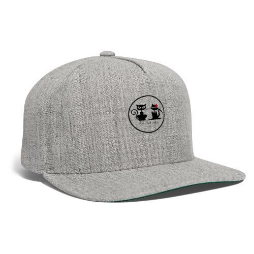slot cats cat logo transparent bg - Snapback Baseball Cap