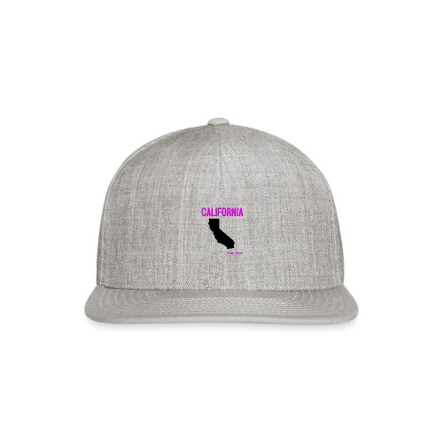 CALIFORNIA PINK - Snap-back Baseball Cap