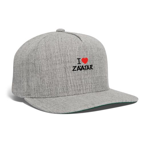i love zaatar 1 - Snapback Baseball Cap