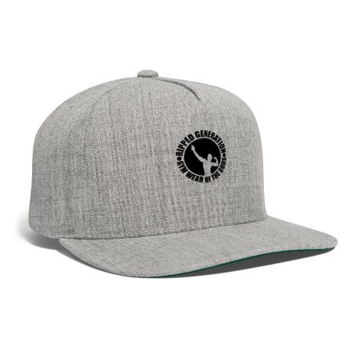 Ripped Generation Gym Wear of the Gods Badge Logo - Snapback Baseball Cap