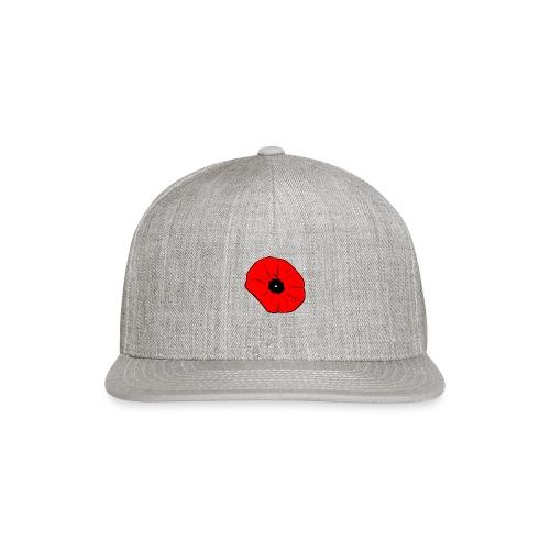 Poppy at Poppy! - Snapback Baseball Cap