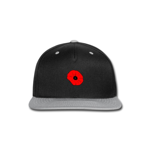 Poppy at Poppy! - Snap-back Baseball Cap