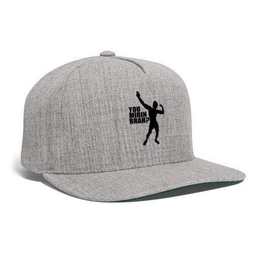 Zyzz Silhouette You mirin brah? - Snapback Baseball Cap