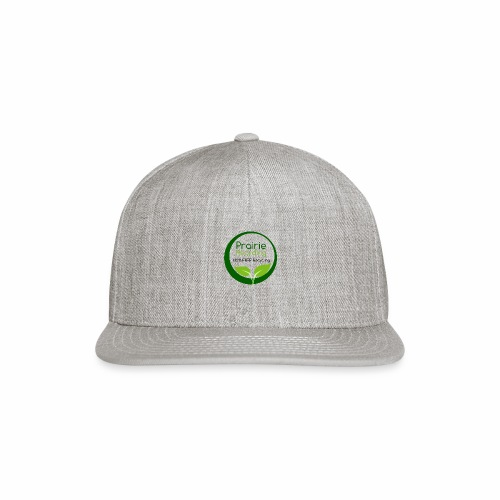 Prairie Recycling Official Logo - Snapback Baseball Cap