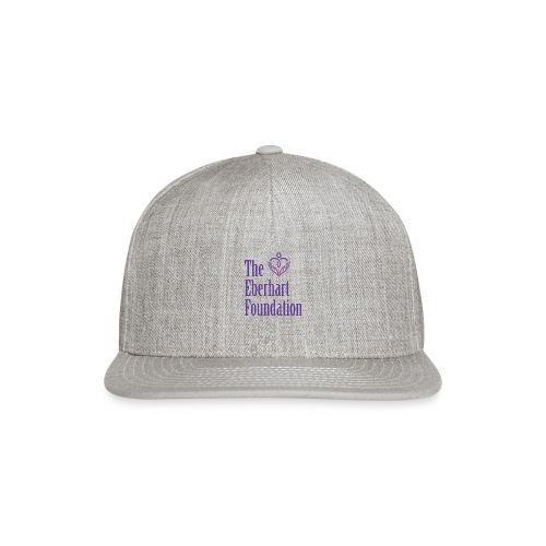 The Eberhart Foundation square logo color - Snap-back Baseball Cap