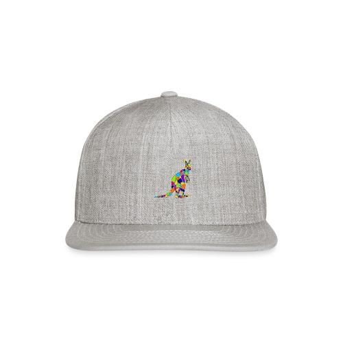 Art Deco kangaroo - Snapback Baseball Cap