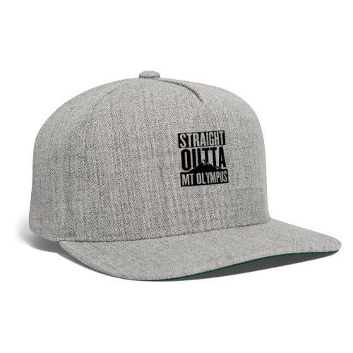 Straight Outta Mt Olympus - Snapback Baseball Cap