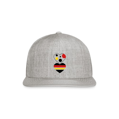 two hearts - Snap-back Baseball Cap