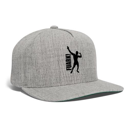 Zyzz Silhouette FUARK - Snapback Baseball Cap