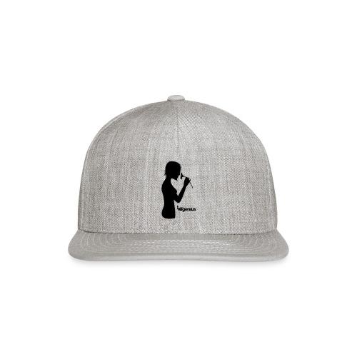 flower girl - Snap-back Baseball Cap
