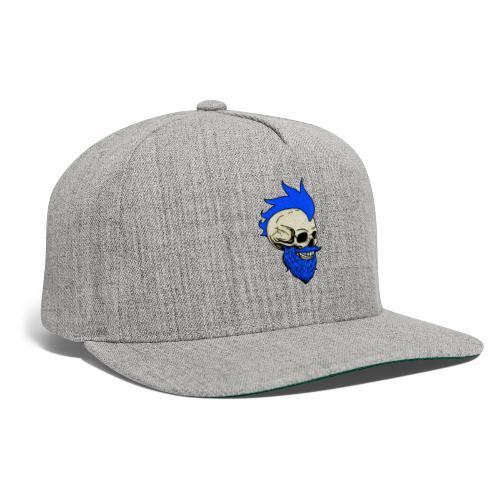 Matty Mohawk Skull - Snapback Baseball Cap