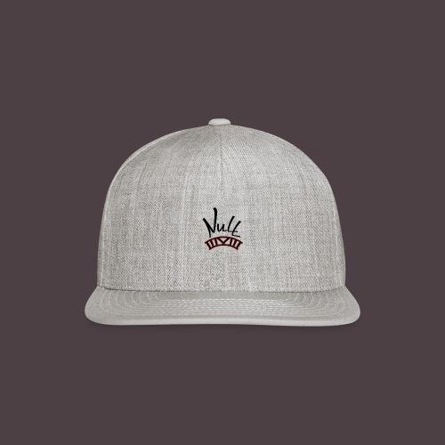 Null Logo - Snapback Baseball Cap