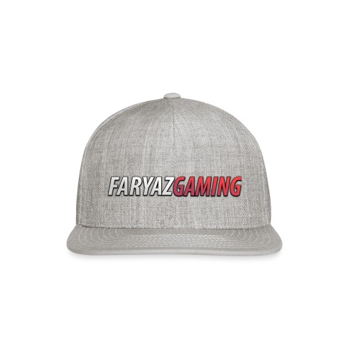 FaryazGaming Text - Snap-back Baseball Cap