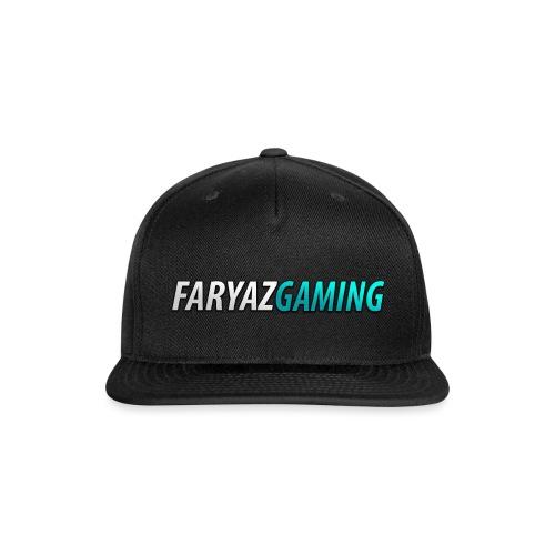 FaryazGaming Theme Text - Snapback Baseball Cap