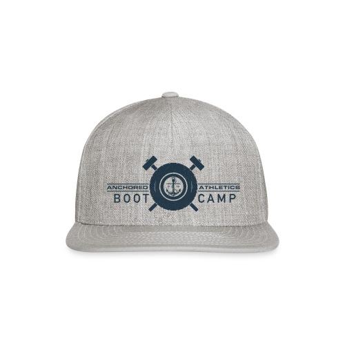 Anchored Bootcamp Navy logo - Snapback Baseball Cap