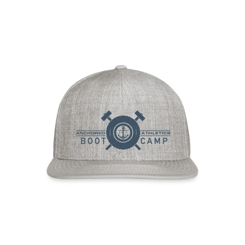 Anchored Bootcamp Blue - Snap-back Baseball Cap