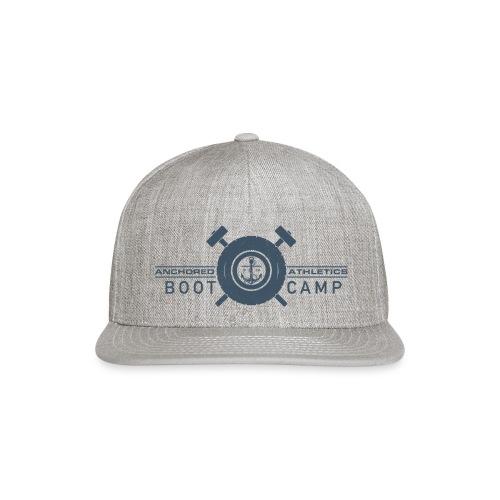 Anchored Bootcamp Blue - Snapback Baseball Cap