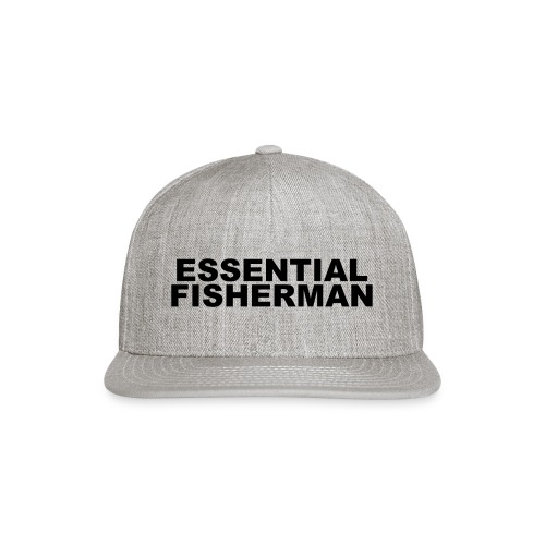 ESSENTIAL FISHERMAN - Snapback Baseball Cap