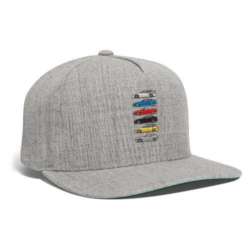 Stack of E36 Variants - Snapback Baseball Cap