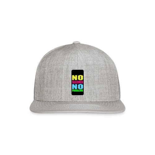 neonnosleevesiphone5 - Snap-back Baseball Cap