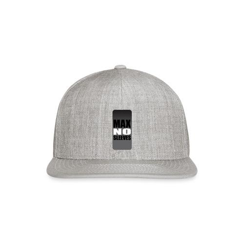 nosleevesgrayiphone5 - Snap-back Baseball Cap