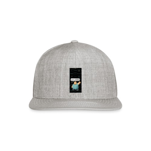 nerdiphone5 - Snap-back Baseball Cap