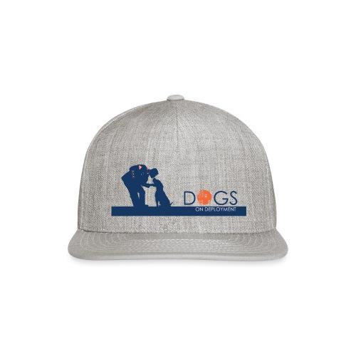 Marine & His Dog - Snapback Baseball Cap