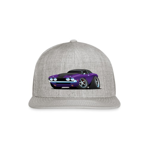 Classic Muscle Car Cartoon - Snap-back Baseball Cap