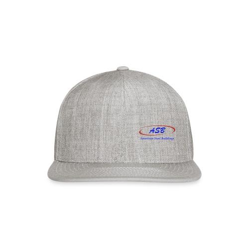 Color Logo Initials With Name - Snapback Baseball Cap