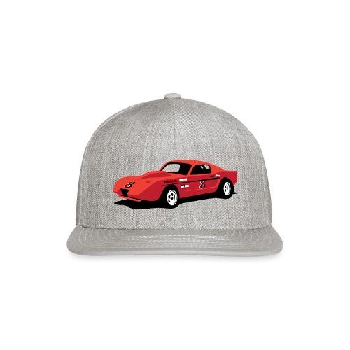 Vintage Hill Climb Race Car - Snapback Baseball Cap