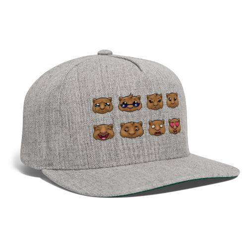 Wombat Feelings - Snapback Baseball Cap