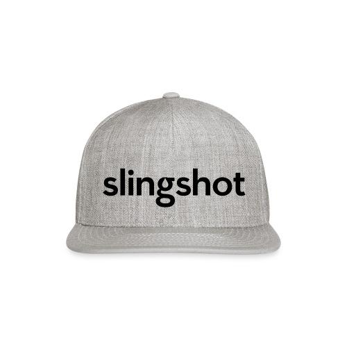 SlingShot Logo - Snap-back Baseball Cap
