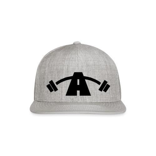 Alpha Logo Black - Snap-back Baseball Cap