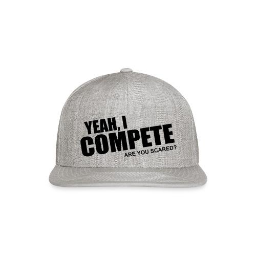 compete - Snapback Baseball Cap