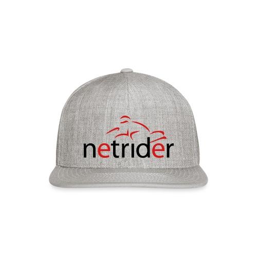 Netrider Logo - Snapback Baseball Cap