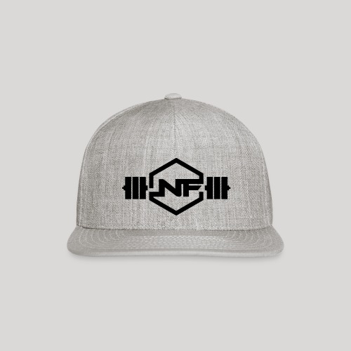 Natural Fitness Gym Logo - Snapback Baseball Cap