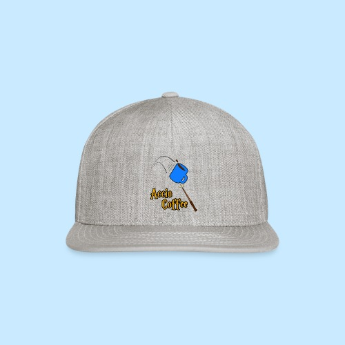 Accio Coffee! (Double Sided) - Snap-back Baseball Cap