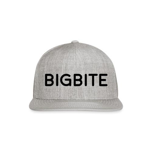 BIGBITE logo red (USE) - Snap-back Baseball Cap