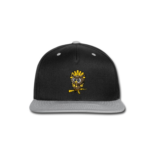 king otrg owl - Snap-back Baseball Cap