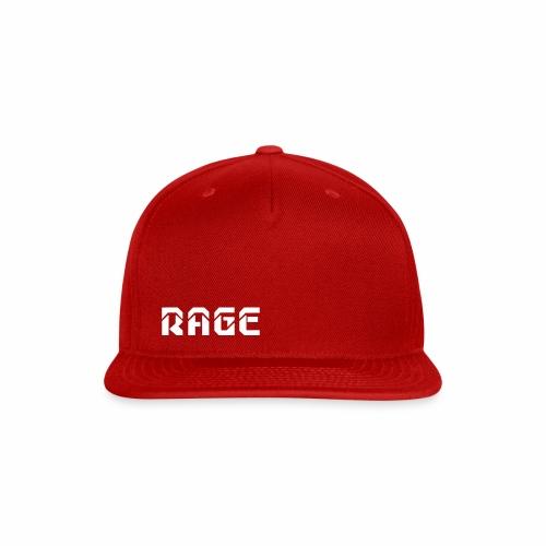 RAGE logo 2017 - Snap-back Baseball Cap