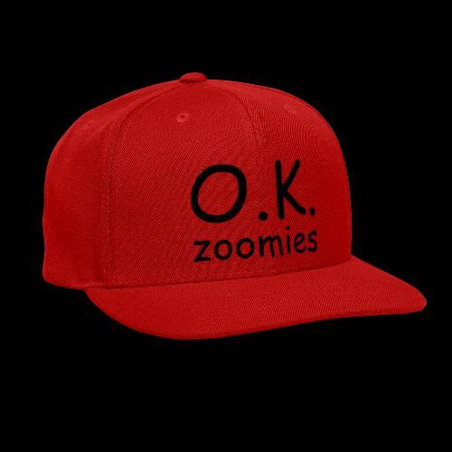 OK Zoomer - Snap-back Baseball Cap