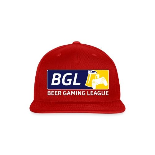 Mens Official Beer Gaming League Shirt - Snap-back Baseball Cap