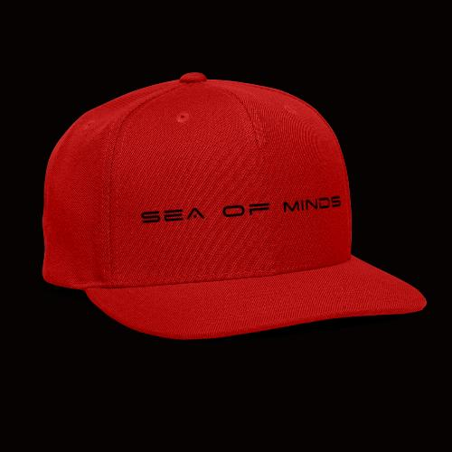 Sea of Minds black - Snap-back Baseball Cap