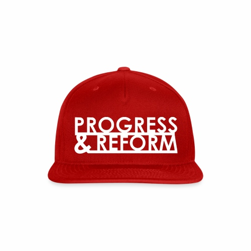 Progress and Reform - Snap-back Baseball Cap