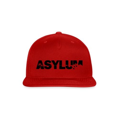 Asylum Logo black - Snap-back Baseball Cap